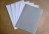 灰底白卡纸